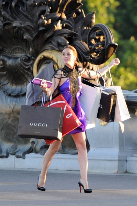 Shopping in Louboutins!